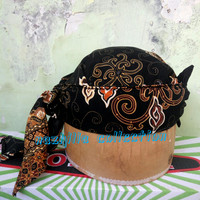 Peci topi blangkon iket motif batik