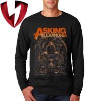 Kaos Band Metal Lengan Panjang - Asking Alexandria Reaper