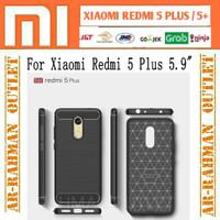 Xiaomi redmi5 plus redmi 5plus 5+ ipaky carbon casing case armor cover