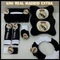 Bantal Mobil 6 in 1 Real Madrid Ekstra