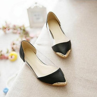 Flatshoes Mika Kulit Sintetis