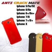 Softcase slim matte anticrack 360 Iphone 5 5S SE 6 6s 6 plus 6splus 7