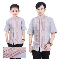 SB Collection Couple Atasan Baju Muslim Iko Koko Kemeja Anak Dan Ayah