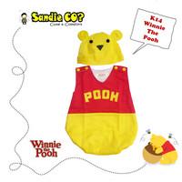 Baju Bayi Jumper Karakter Disney Stelan Kostum Winnie The Pooh Bear