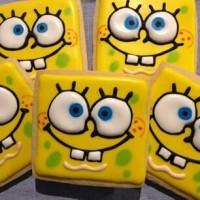 Spongebob 2 / Kukis hias / Kue karakter / Butter cookies character