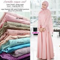 GZ Maxi dress Brukat Pesta /Gamis Brukat Pesta /Baju Muslim Murah Sari