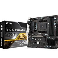 Motherboard MSI B350M Pro VDH (Socket AM4 DDR4) Murah