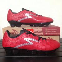 Sepatu Bola Specs Quark FG Chestnut Red 100757 Original