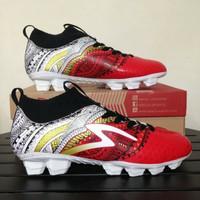 Sepatu Bola Specs Heritage FG Emperor Red 100796 Original