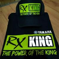 KAOS & TOPI CUSTOM #RX KING