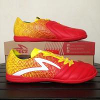 Sepatu Futsal Specs Equinox IN Emperor Red Yellow 400711 Original