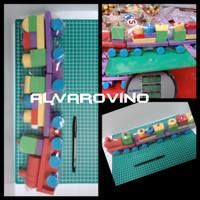 Mainan Kayu Kereta Balok