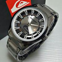 Jam Tangan Pria / Cowok Quiksilver Ocean Date Rantai Black