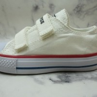 sepatu anak anak murah converse velcro warna putih