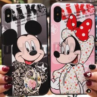 Mickey Case Minnie Case iPhone 6/6s 6+/6s+ iPhone 7/8 7+/8+ iPhone X
