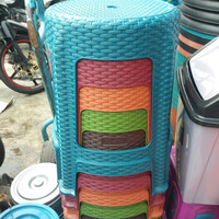 Bangku Baso Bulat Tikar / Kursi Baso Bulat / Bangku Plastik