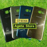Back Door Samsung S7 Edge ( Tutup Casing Belakang ) S7 Edge Original