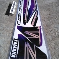 Striping Motor Variasi Yamaha Nouvo Z 07