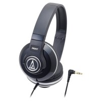 Audio-Technica ATH-S500# BK Street Monitoring Headphone Diskon