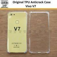 Case Anti Crack Vivo V7 Anticrack Ultra Thin Ultrathin Soft TPU V 7
