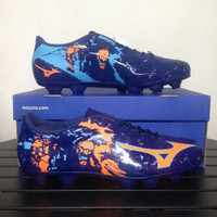Sepatu Bola Mizuno Ryuou MD Blue Depths P1GA189054 Original