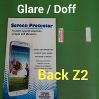 Anti Gores Back Screen Protector Glare Doff Sony Xperia Z2 Belakang