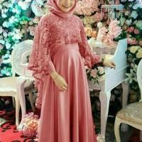 gamis brukat bumil baju hamil kebaya umroh haji maxi dress muslim