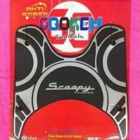 Karpet Scoopy PGM FI - Alas Pijakan Kaki di Motor Scoopy