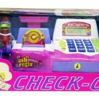 Mainan Anak Register Check Out Kasir Kasiran Besar