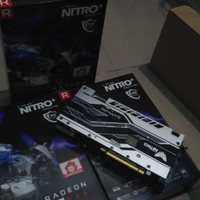 VGA Sapphire NITRO+ radeon RX580 / RX 580 8 Gb GDDR5