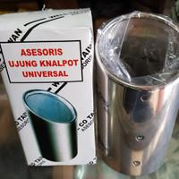 muffler universal/mufler cuter/sambungan knalpot/buntut knalpot