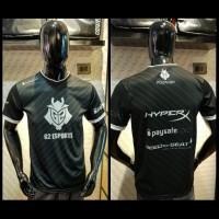 Jersey Team G2 Esports Official || Kaos Baju CSGO Gaming Dota
