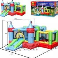 Mainan Rumah Balon Happy Hop 9112 Farmyard Ballpit Castle Murah