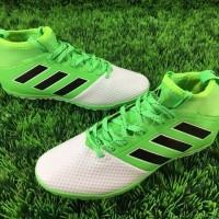 Sepatu Futsal Adidas Ace 17 3 White Green Turf