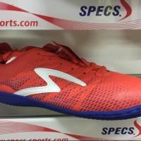 Sepatu futsal specs 2017 original Apache in red poppy naval blue mur