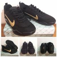 Sepatu Basket Nike Kobe 11 Xi Elite Flyknit Black Mambaa Last Game