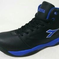 Sepatu Basket Diadora Dribling Black Blue Original
