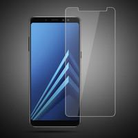 Tempered Glass Std Samsung Galaxy A8 Plus 2018 / Anti Gores Kaca