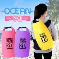Ocean Pack Drybag 20 Liter (Tas Waterproof 10l / Anti Air) - OCEAN 20L