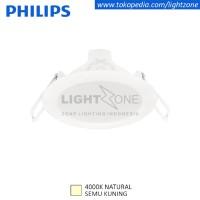 Philips downlight LED Eridani 59260 3w watt Semu Kuning Natural White