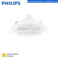 Philips downlight LED Eridani 59260 3w watt Kuning Warm White