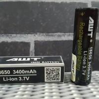 vape Batere / Baterai AWT hitam 3400 mAh 18650 best clone 1:1 ( not mx