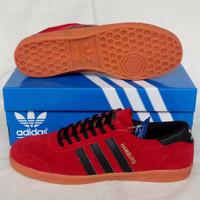 Sepatu Adidas Hamburg Red Black
