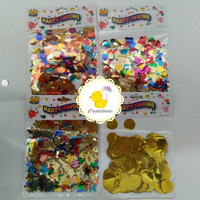 Kertas Gliter Isi Balon PVC | Souvenir Ultah | Perlengkapan Pesta