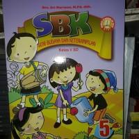 SENI BUDAYA DAN KETERAMPILAN SBK 5 SD KELAS V KTSP 2006 - BUKU PENDID