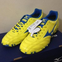Harga Hemat Sepatu Futsal Mizuno Monarcida 2 Fs In Yellow Bolt Blue