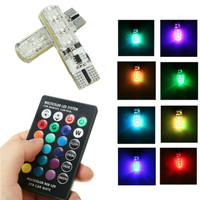 Lampu Led Senja Remote T10 / LED Senja Remote T10 RGB