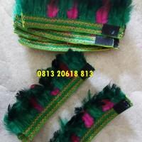 Gelang Kaki & Tangan | baju adat dayak anak (4 pcs)