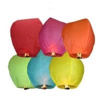 Lampion Terbang Paper Lantern Balon Udara Balon Terbang Lampion Kertas