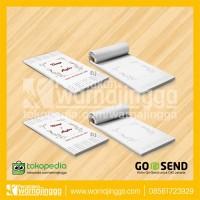 Souvenir Notepad Notes Memo Ukuran 6cm x 10cm - NP005